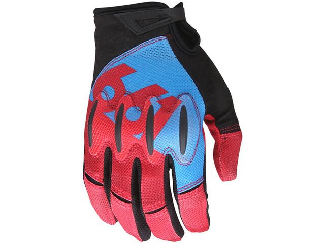 SixSixOne EVO II Handschuhe Herren blue/red